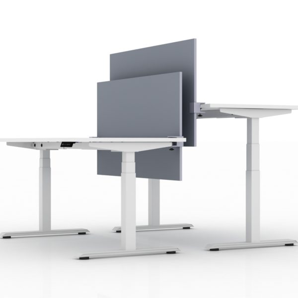 AMQ Height Adjustable Benching System